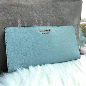 Kate Spade Seaside Large Slim Bifold Wallet